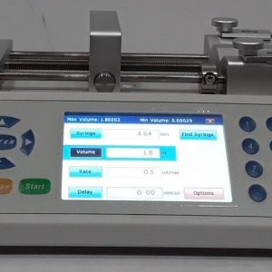 NEW Fusion 100 High Precision Syringe Pump NEW Fusion 100 High Precision Syringe Pump