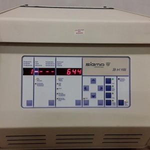Sigma Laborzentrifugen 3K15 Refrigerated Centrifuge Plate Rotor Included Sigma Laborzentrifugen 3K15 Refrigerated Centrifuge Plate Rotor Included