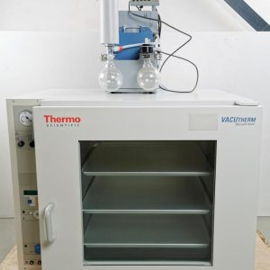 Thermo Scientific VacuTherm Vacuum Oven VT 6130 M 51014874 W/ Vacuum pump Thermo Scientific VacuTherm Vacuum Oven VT 6130 M 51014874 W/ Vacuum pump