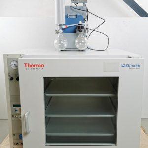 Thermo Scientific VacuTherm Vacuum Oven VT 6130 M 51014874 W/ Vacuum pump Thermo Scientific VacuTherm Vacuum Oven VT 6130 M 51014874 W/ Vacuum pump
