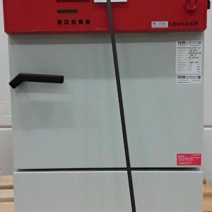 Binder Laboratory Incubator KB 53 -5 C to 100 C HEAT AND COOLING CHAMBER Binder Laboratory Incubator KB 53 -5 C to 100 C HEAT AND COOLING CHAMBER
