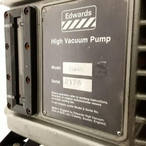 Edwards E1M40 High Vacuum Rotary Pump with Tank Edwards E1M40 High Vacuum Rotary Pump with Tank