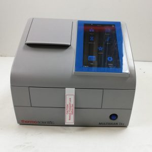 Thermo Scientific Spectrophotometer  Multiscan Sky w/ Cuvette and Touch Screen Thermo Scientific Spectrophotometer  Multiscan Sky w/ Cuvette and Touch Screen